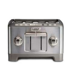 4 Slice Toaster (Brushed Stainless Knob)