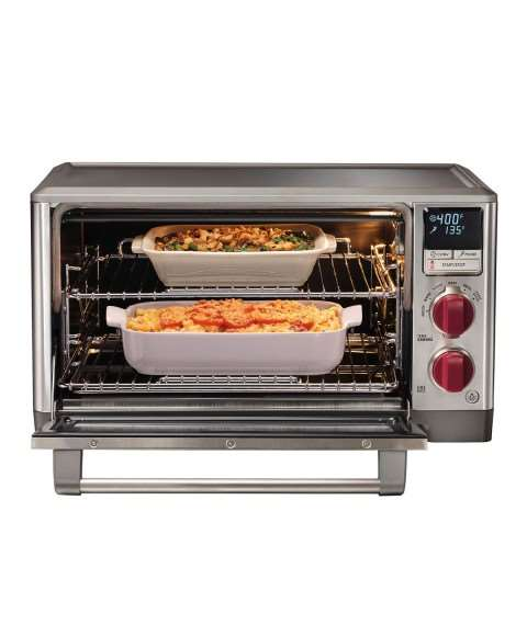Elite Countertop Oven with Convection (Red Knob)