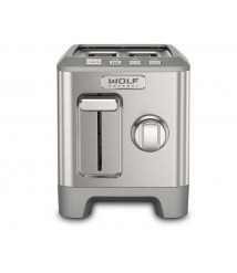 2 Slice Toaster (Brushed Stainless Knob)